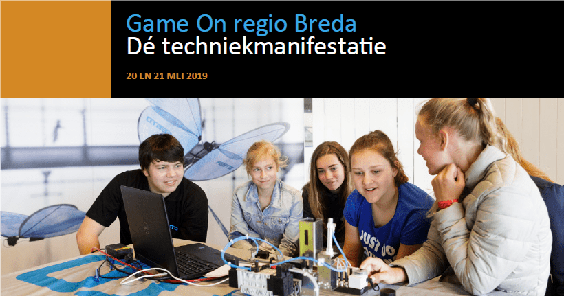 Beeld Game On regio Breda 2019