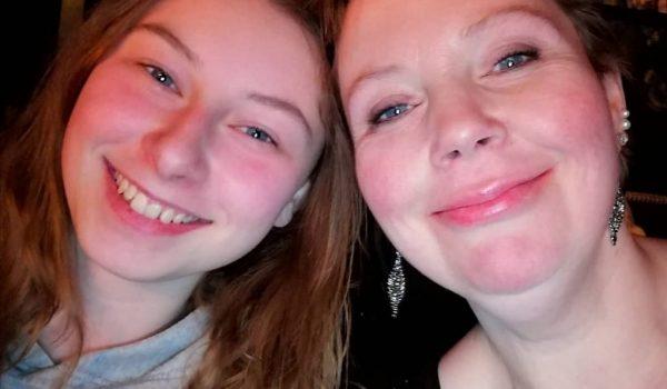 Willow met moeder